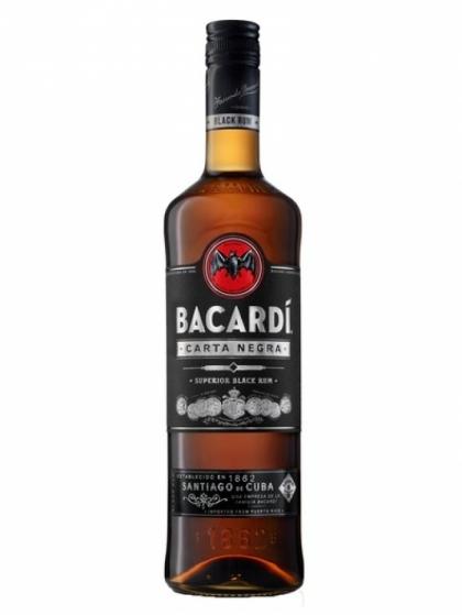 Bacardi Carta Negra 40% 1L
