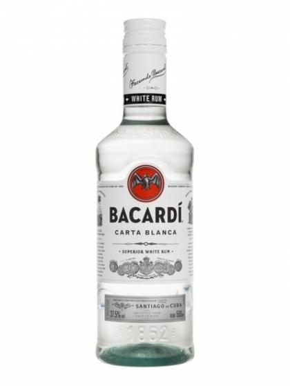 Bacardi Superior Carta Blanca 37.5% 0.5L