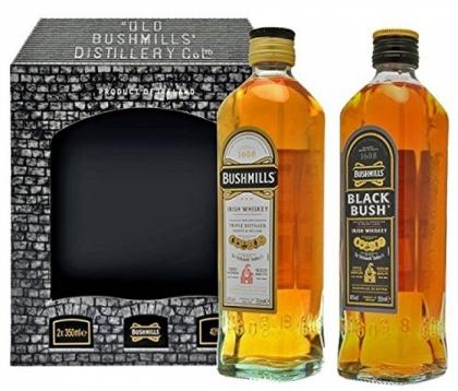 Bushmills Bi-Pack 1L : Bushmills Original 1L + Blackbush 1L 40%