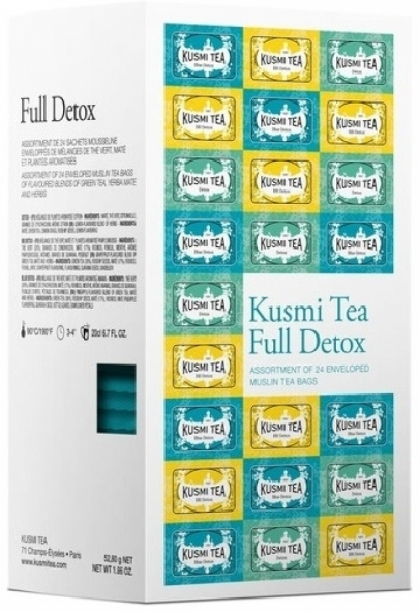 Kusmi Tea - Full Detox Selection Of 24 Teabags