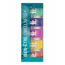 KUSMI Wellness Teas sampler pack 5x25g tins